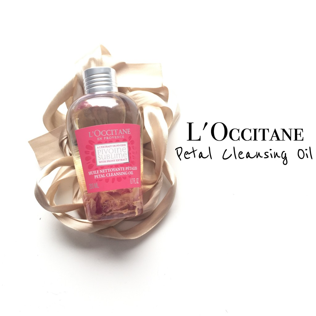 L'Occitane Petal Cleansing Oil