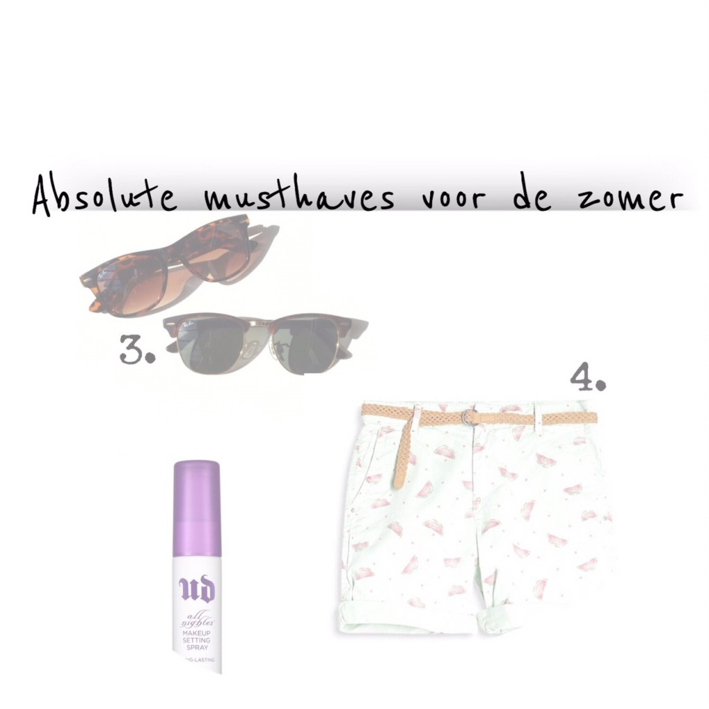 Absolute musthaves voor de zomer