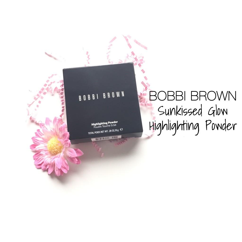 Bobbi Brown Sunkissed Glow Highlighting Powder