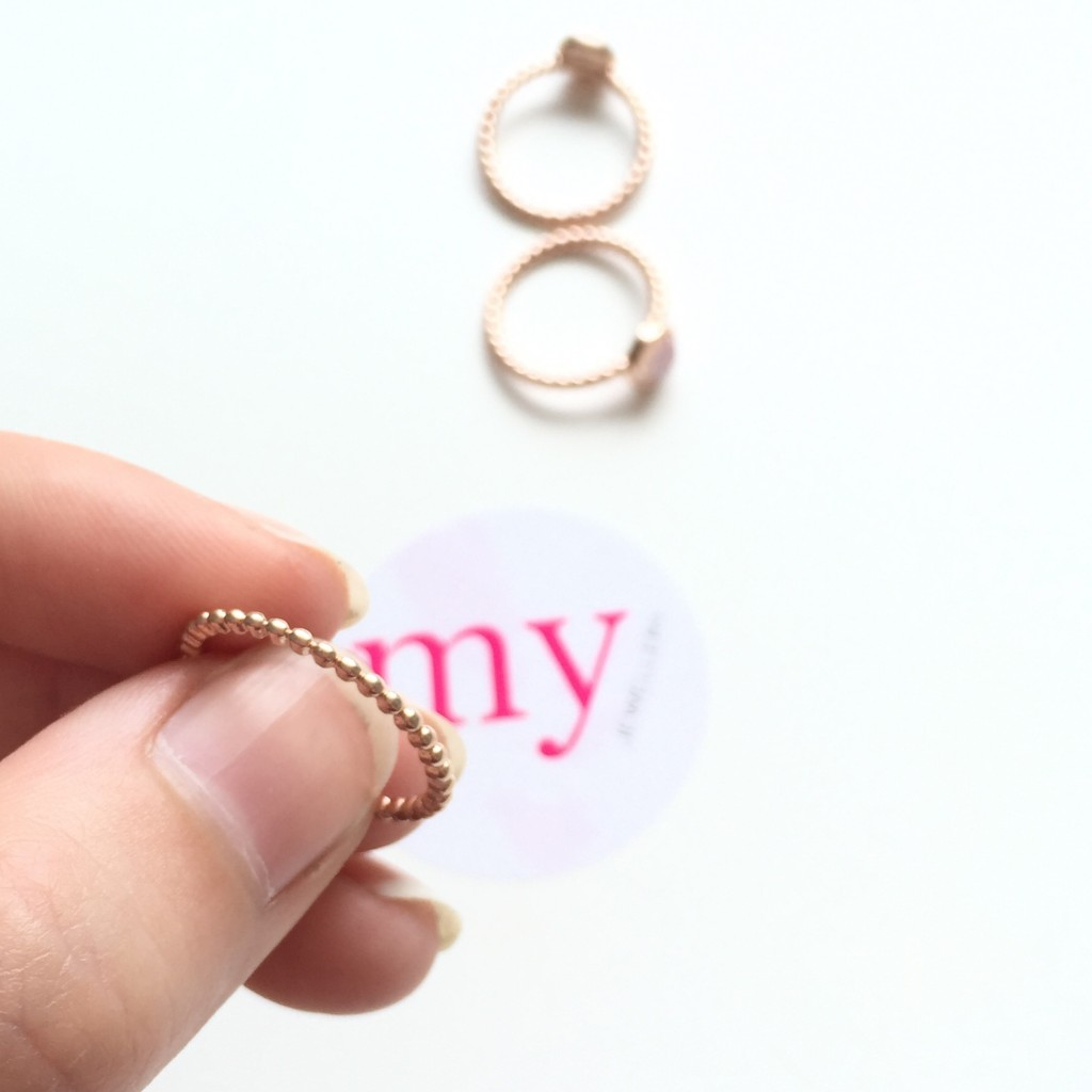 Minimalistische ringen van My Jewellery