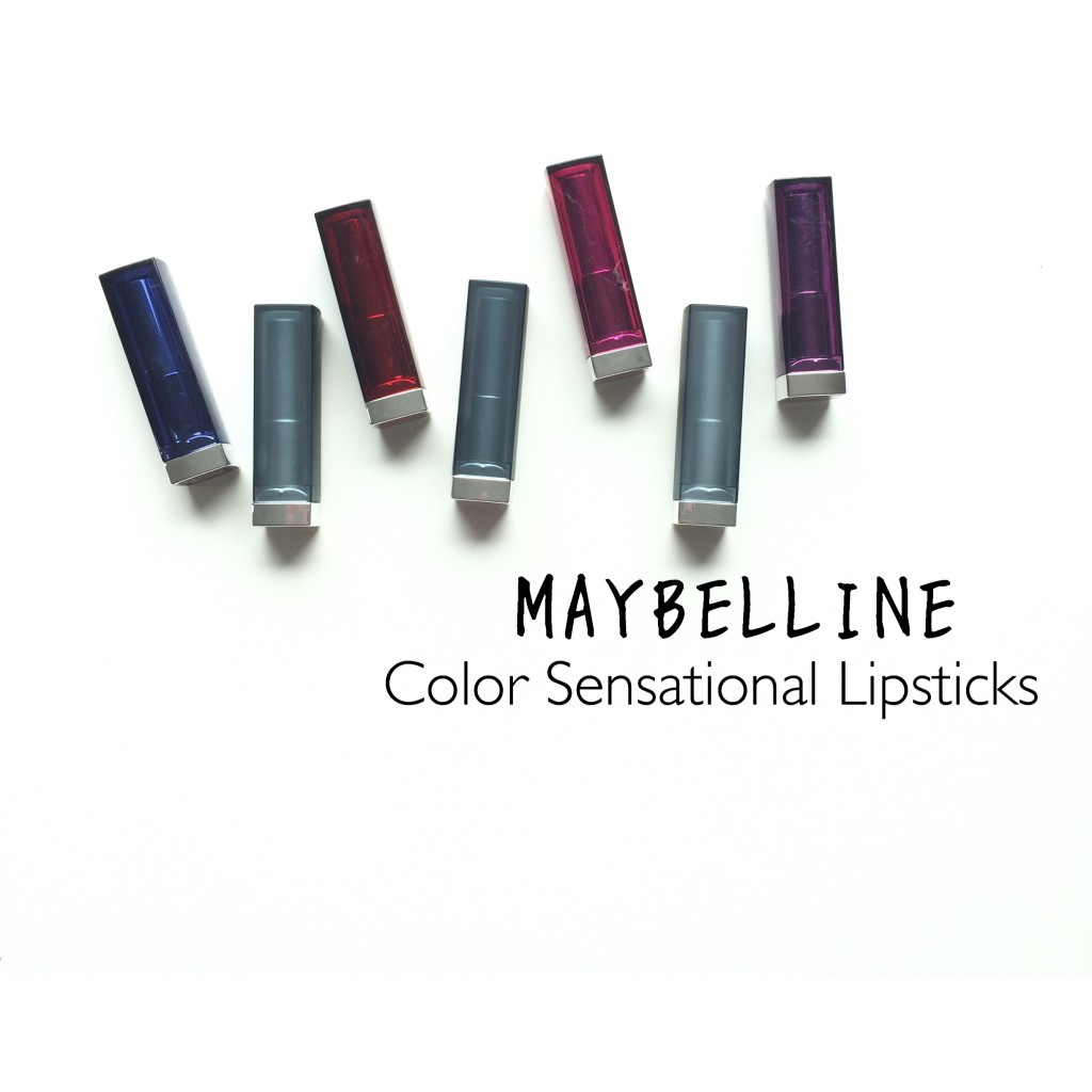 Maybelline Color Sensational Lipsticks