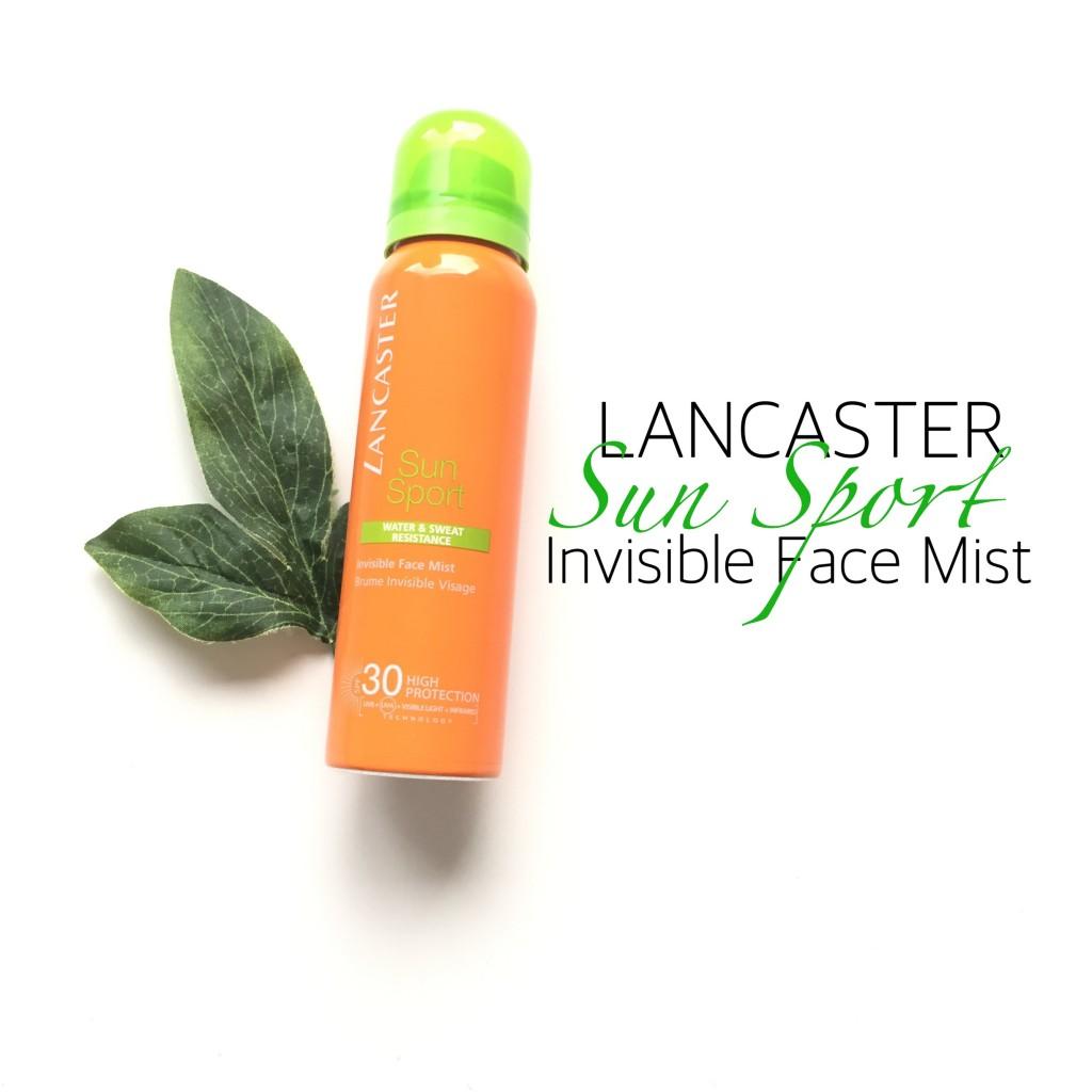 Lancaster Sun Sport Invisible Face Mist