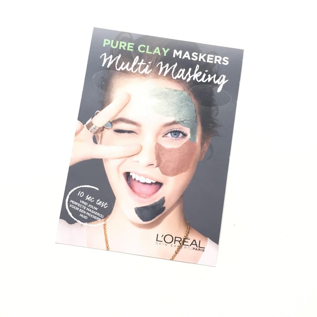 L'Oréal Paris Detox Pure Clay Gezichtsmasker