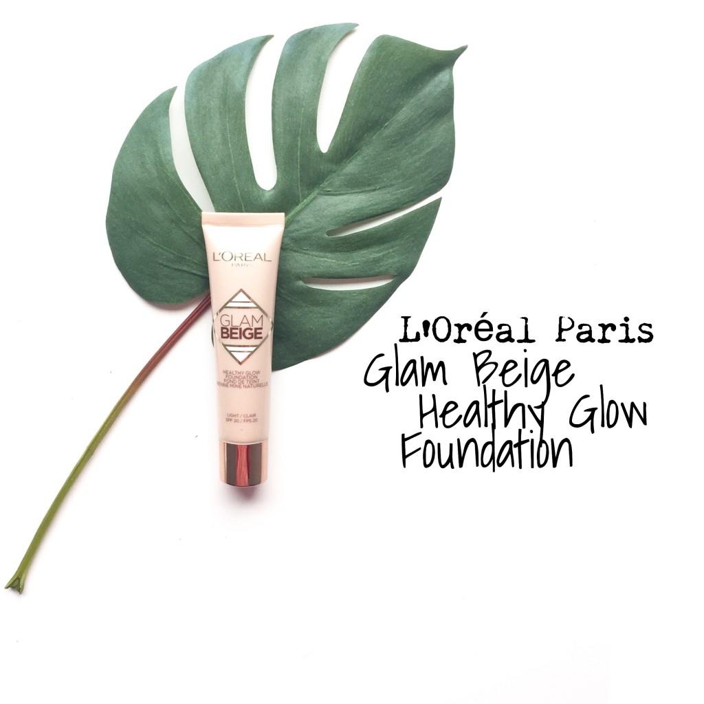 L'Oreal Paris Glam Beige Healthy Glow Foundation