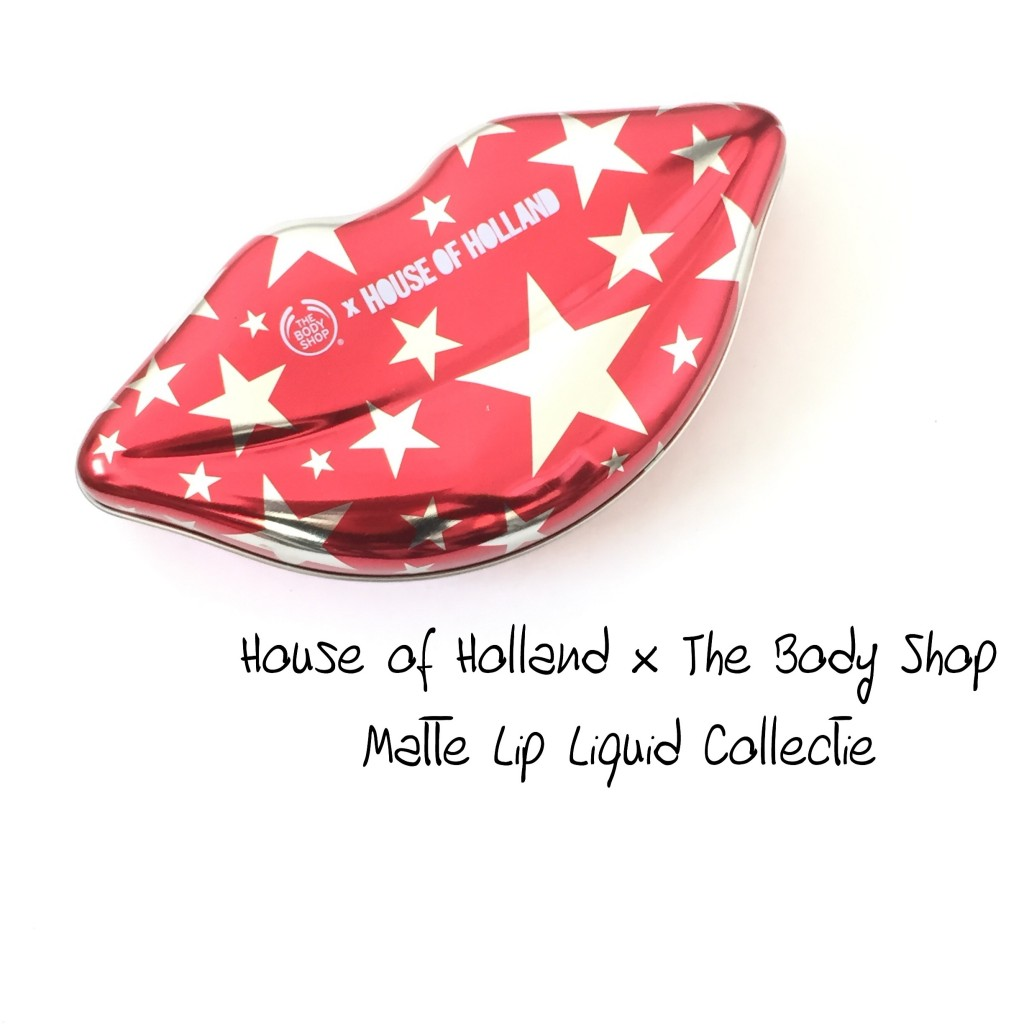 House of Holland x The Body Shop Matte Lip Liquid Collectie