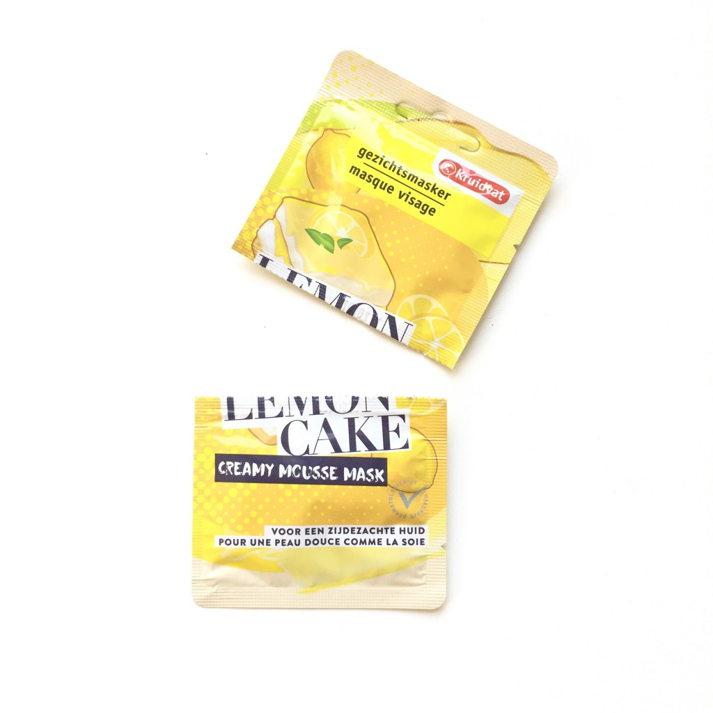 Kruidvat Lemon Cake Creamy Mousse Mask