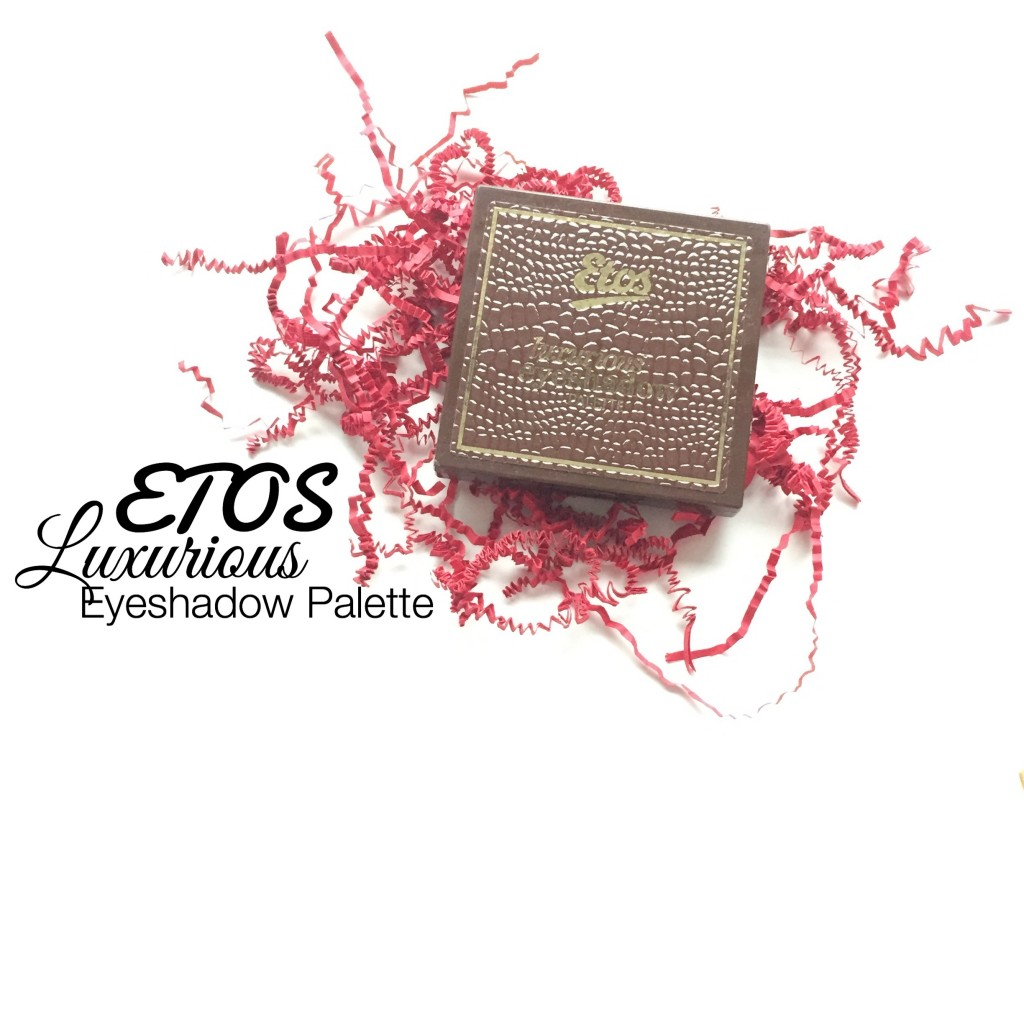 Etos Luxurious Eyeshadow Palette