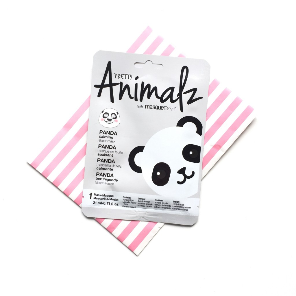 Pretty Animalz Panda Calming Sheet Mask