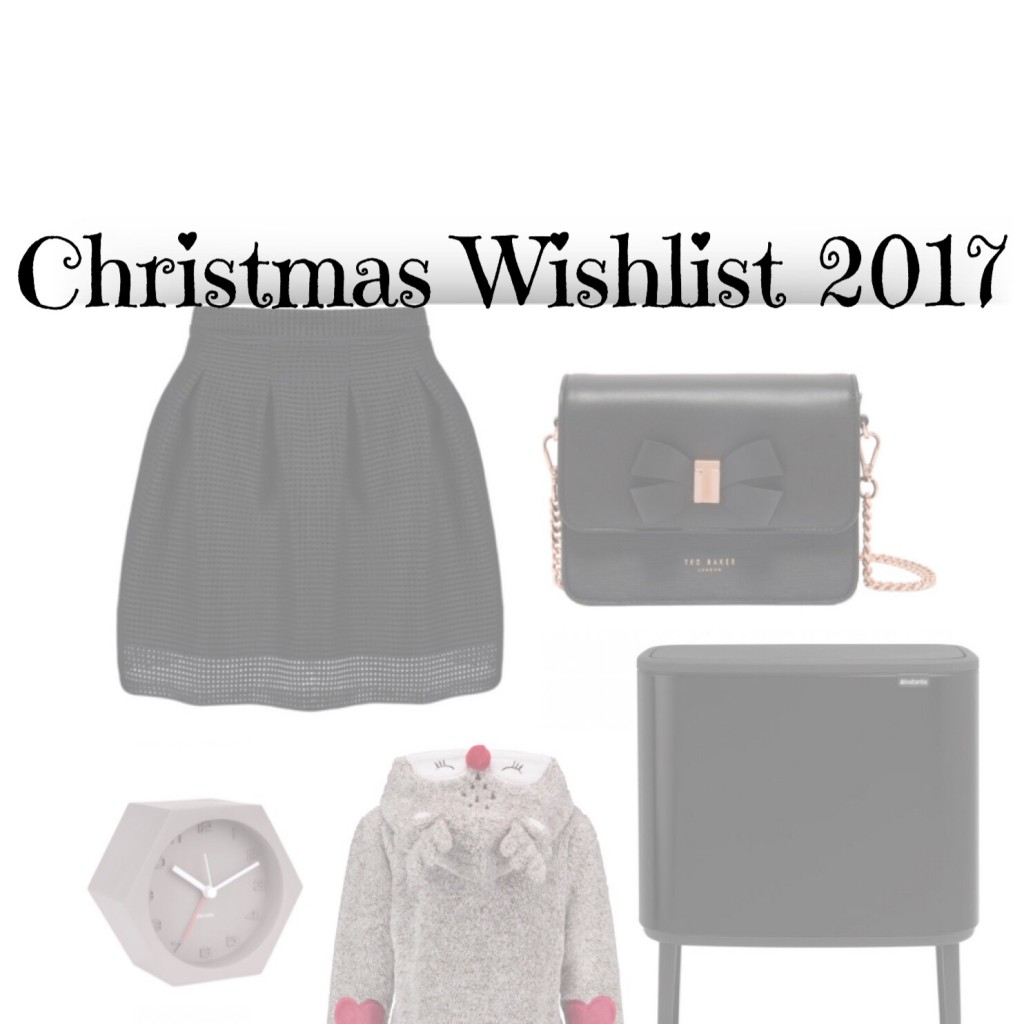 Christmas Wishlist 2017