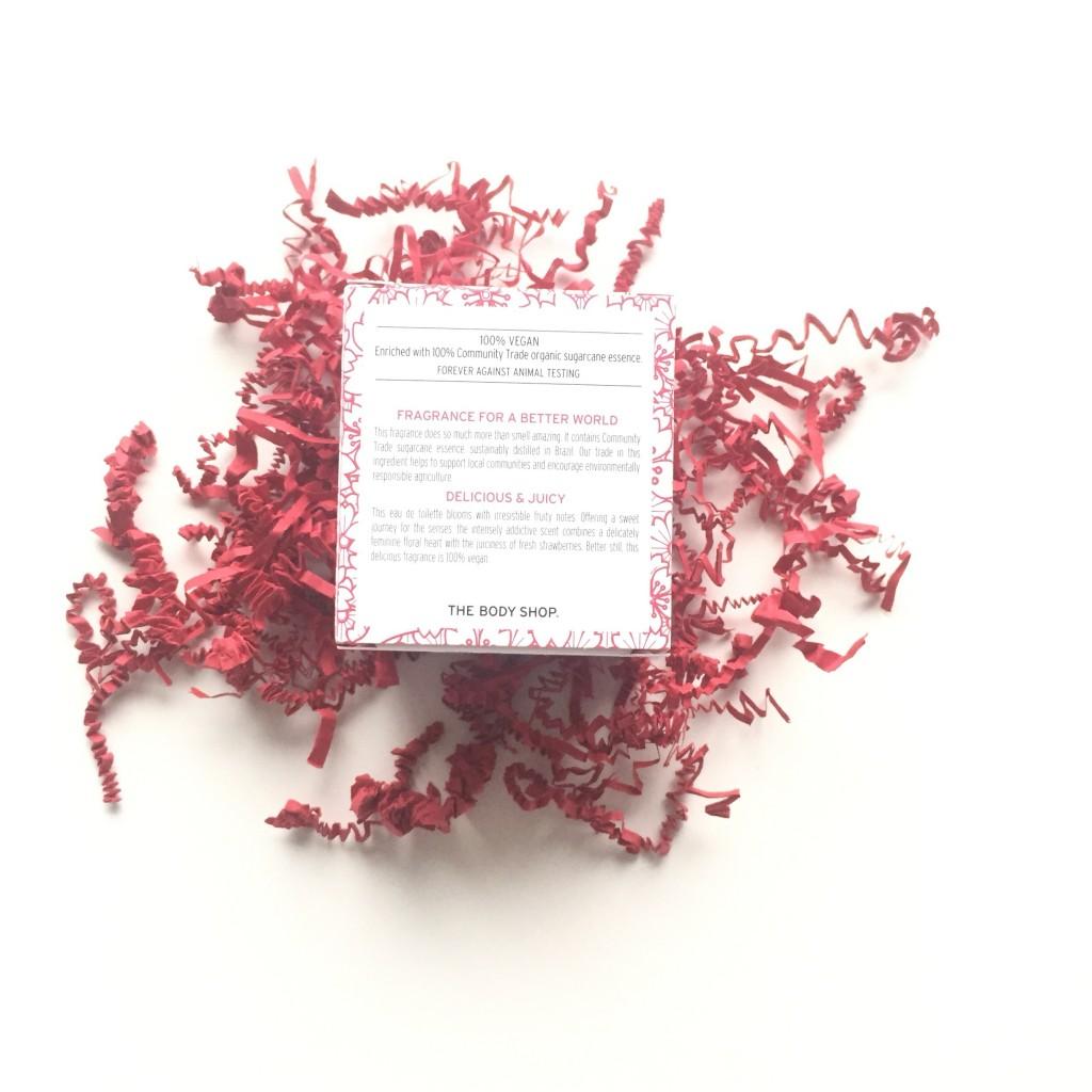 The Body Shop Japanese Cherry Blossom Strawberry Kiss Eau De Toilette