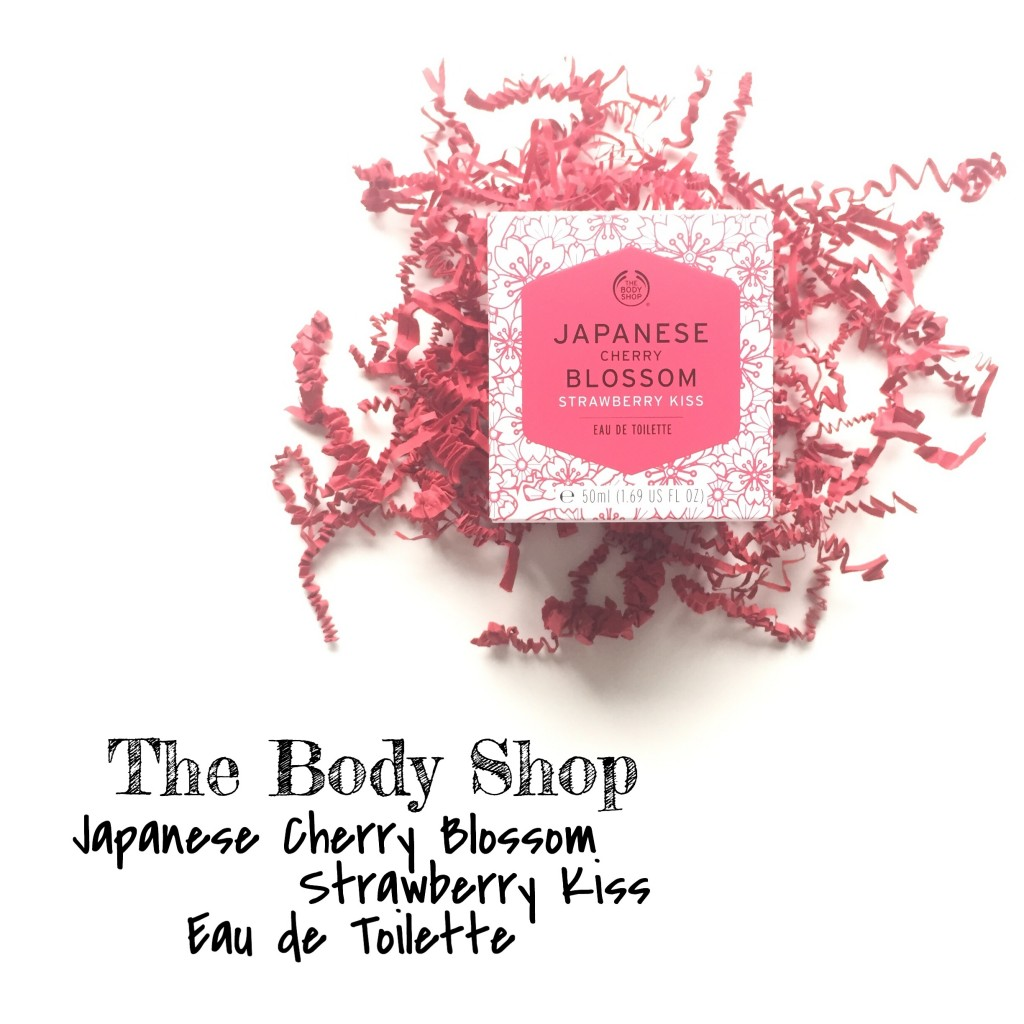 The Body Shop Japanese Cherry Blossom Strawberry Kiss Eau De Toilette