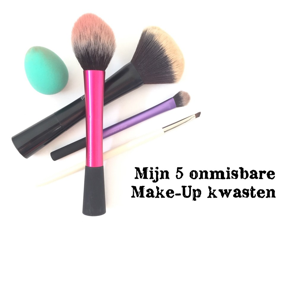 Mijn 5 onmisbare make-up kwasten