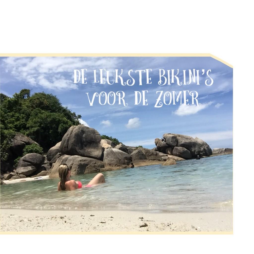 De leukste bikini's voor de zomer