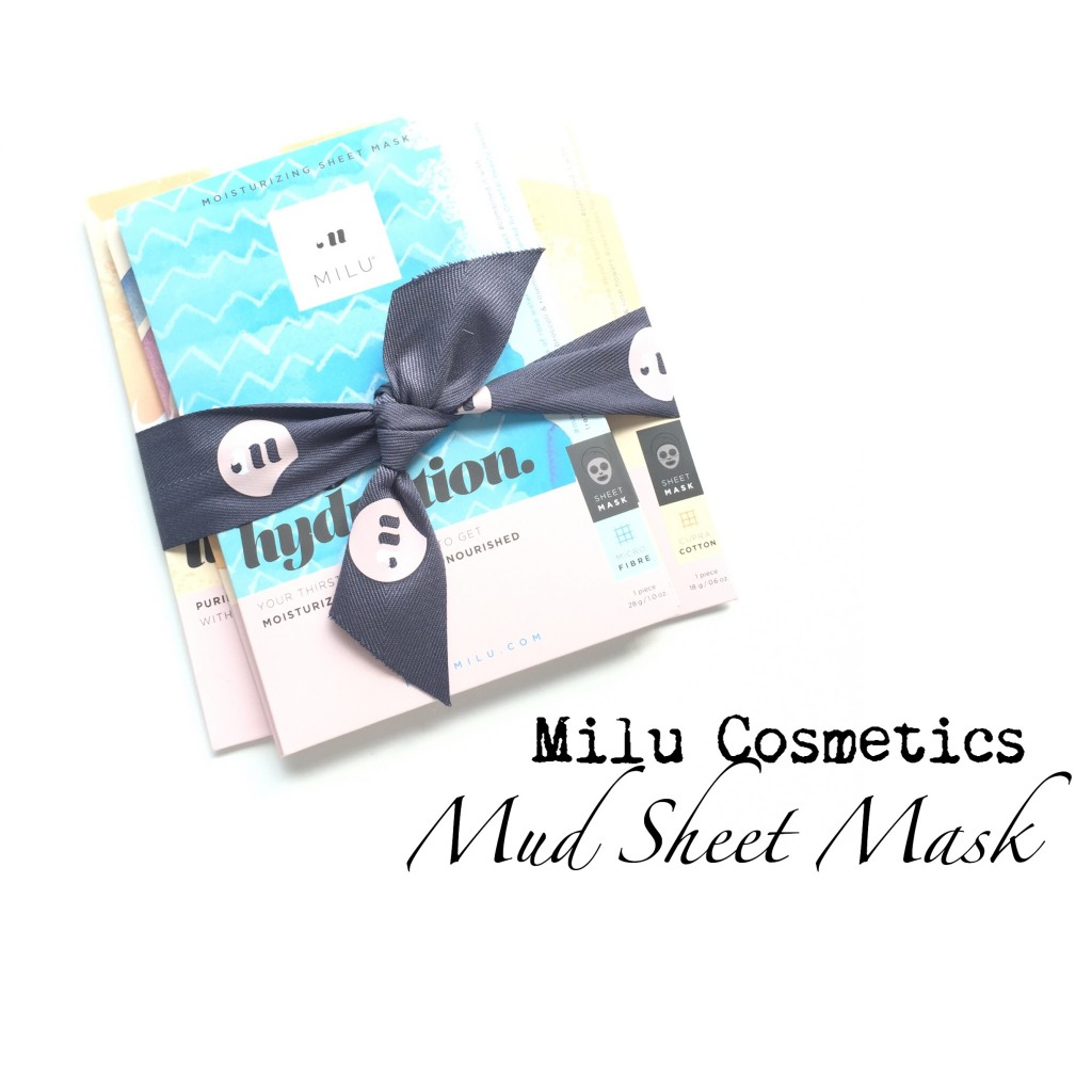 Milu Mud Sheet Mask