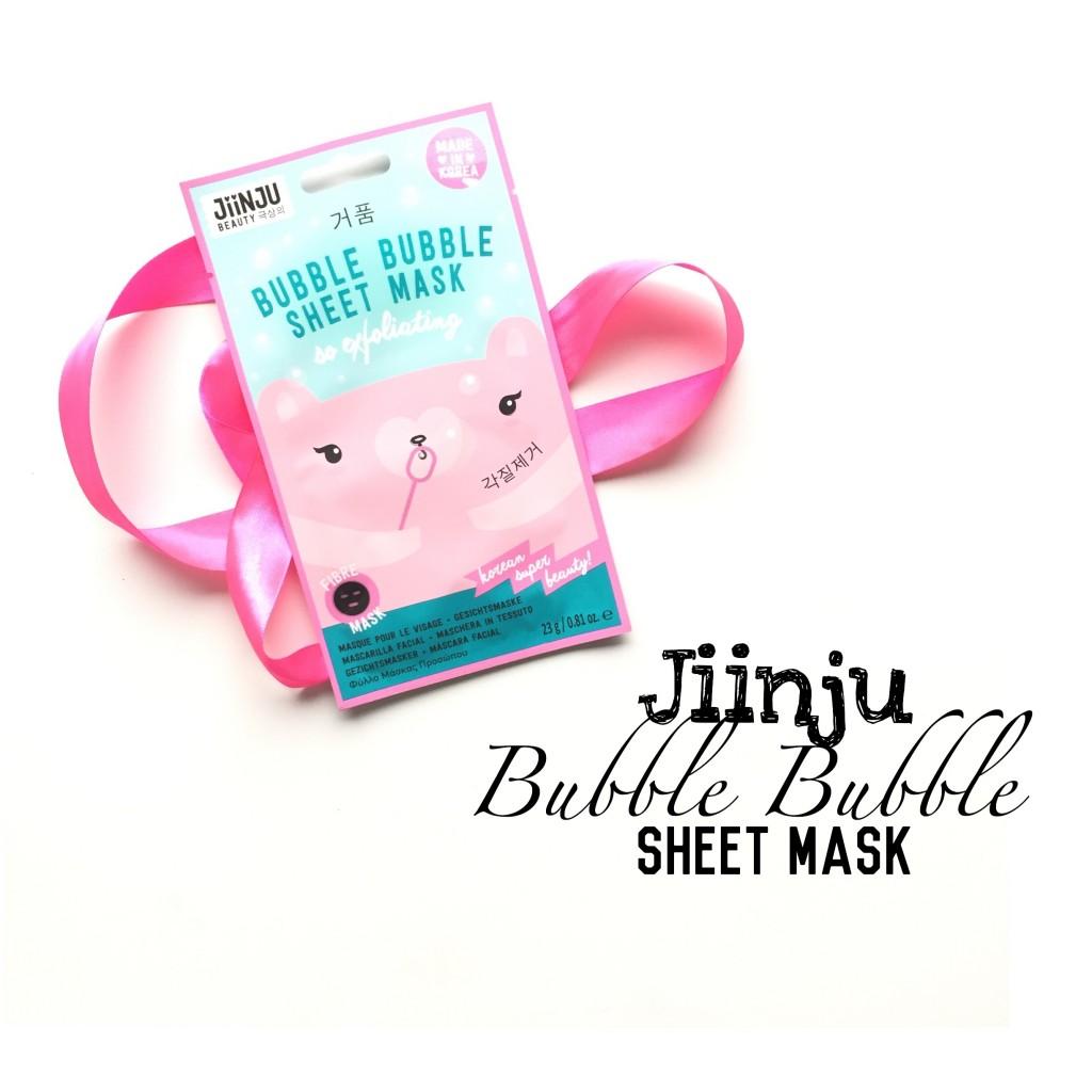 Jiinju Bubble Bubble Sheet Mask