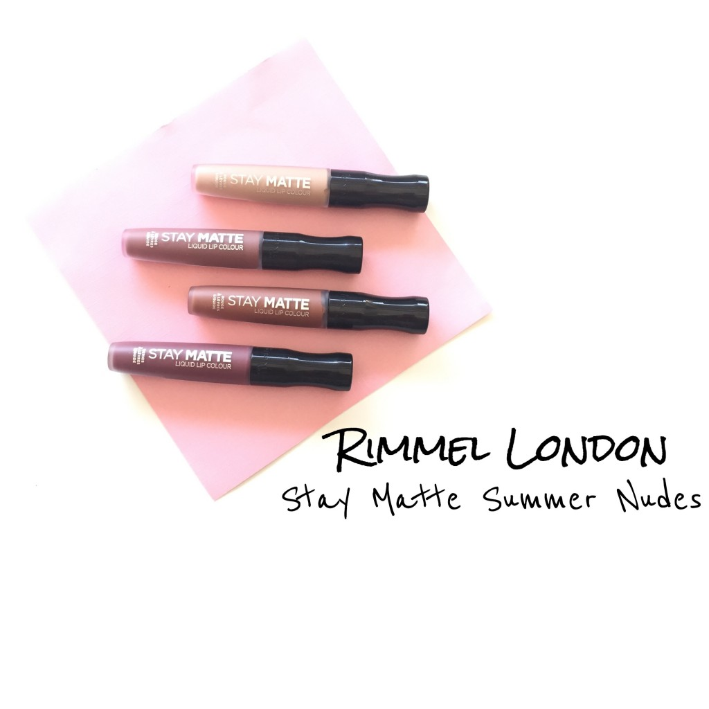 Rimmel London Stay Matte Summer Nudes
