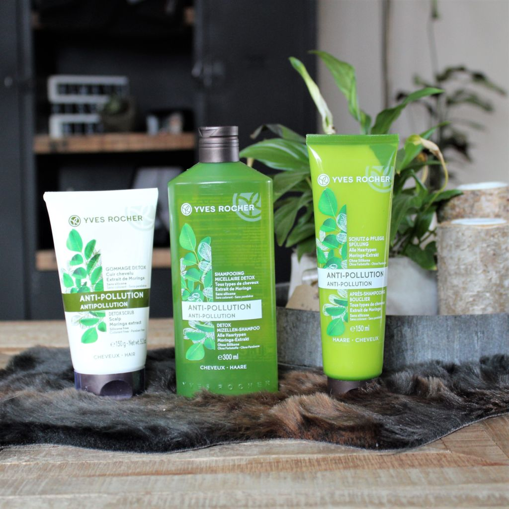Yves Rocher Anti-Pollution Haarverzorging