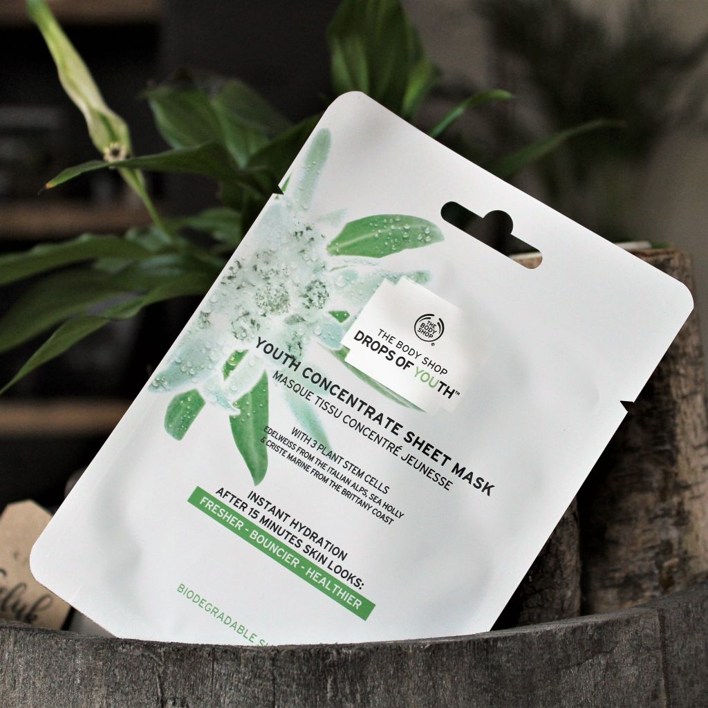 The Body Shop Youth Concentrate Sheet Mask