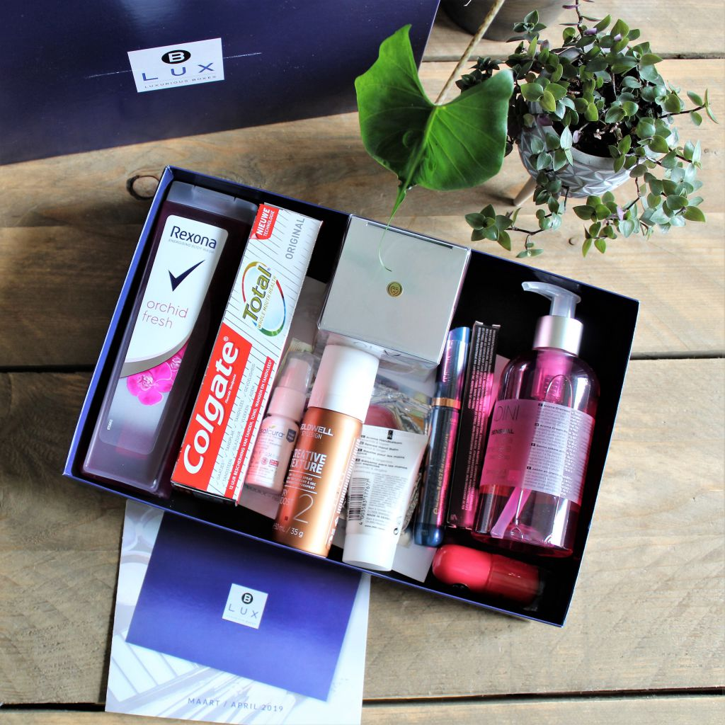 Blux Box maart/april Unboxing