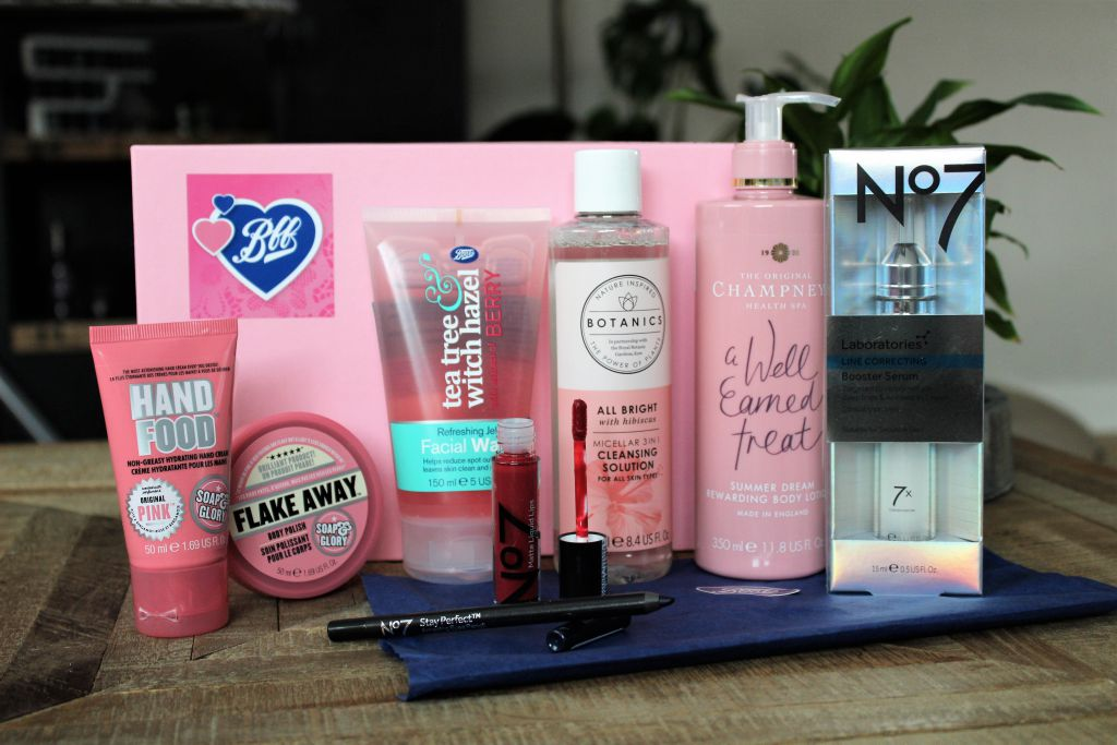 Boots BFF Box Unboxing