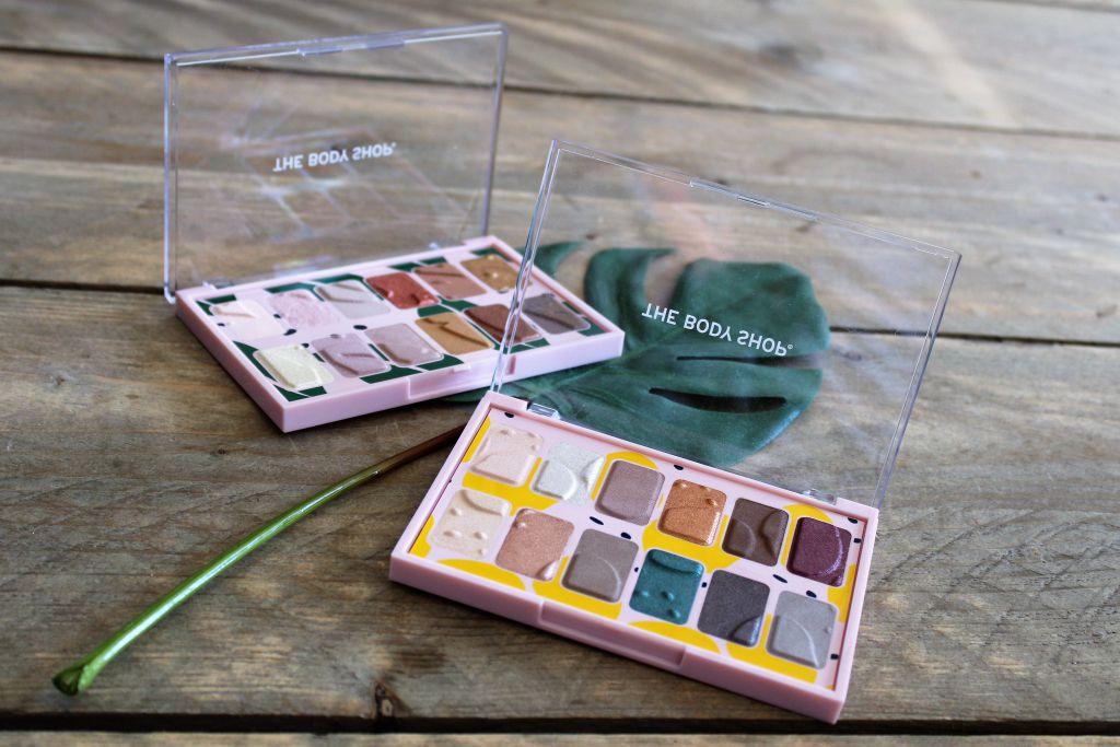 Nieuwe oogschaduw paletten van The Body Shop