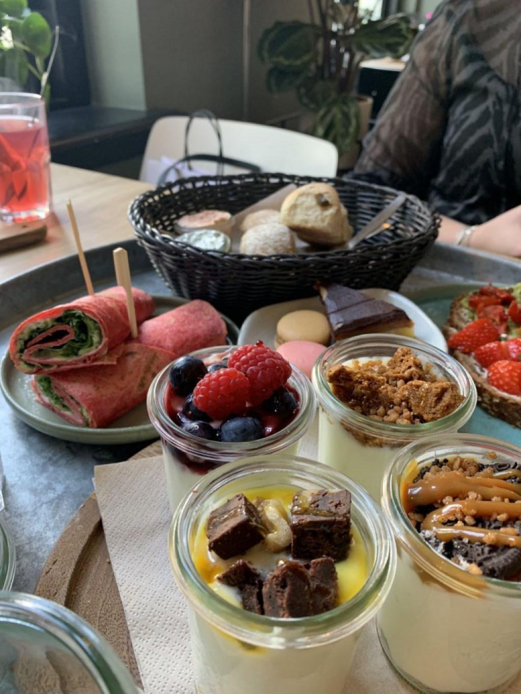 Een high-tea bij Yoghurt Barn in Breda