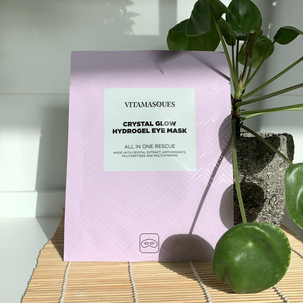 Vitamasques Crystal Glow Hydrogel Eye Mask