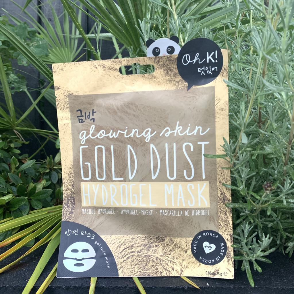 Gold Dust Glowing Skin Hydrogel Mask