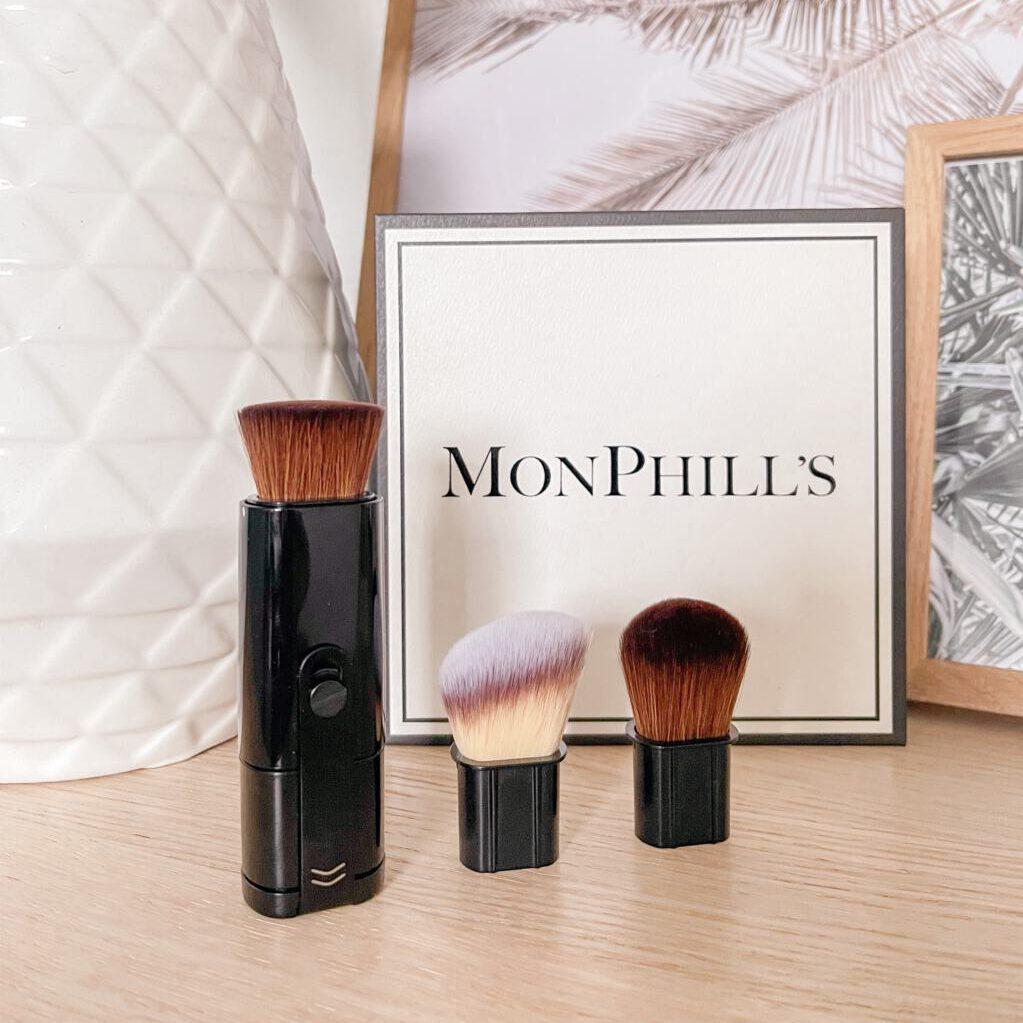 Nieuwe make-up kwasten van MonPhill's