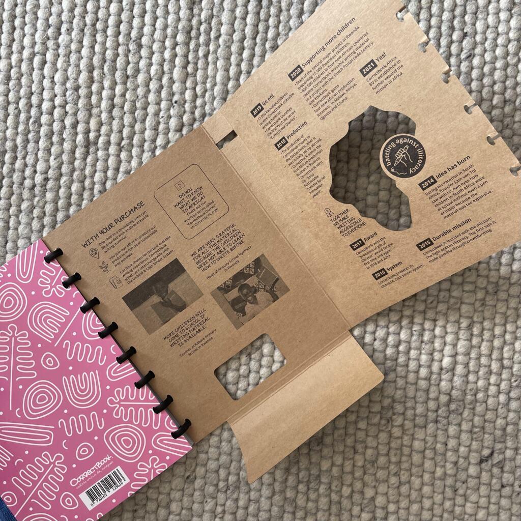 Correctbook Agenda in Blossom Pink