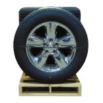 2009 2018 Dodge Ram 1500 Chrome Clad 20 inch a