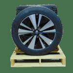 2019 2020 Altima Machined Black Alternating Spoke 18 Inch a