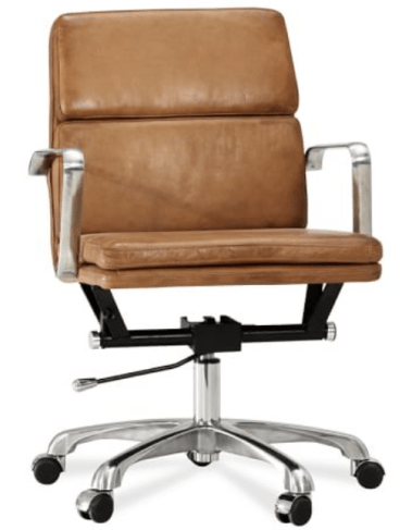 pottery barn desk chair nash