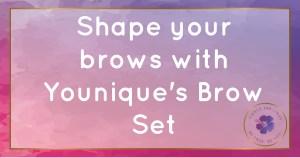shape eyebrows brow kit