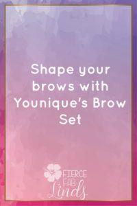 shape eyebrows set