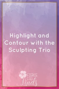 highlight and contour, sculpting trio, younique