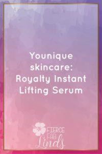 skincare, younique, lifting serum