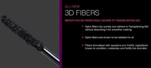 3d fiber lashes nylon fiber