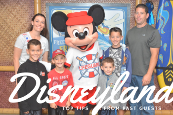 Top Disneyland First Timer Tips from past guests