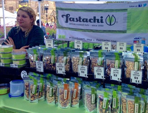 Many people have the misconception that farmer's markets just sell produce, but there were many stands carrying different proteins, dairy, and even sweets.