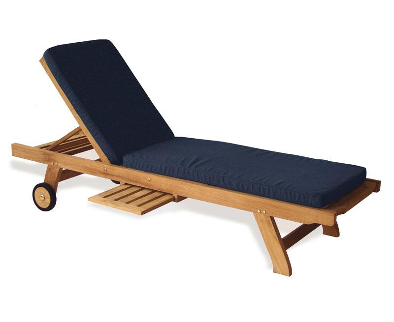 Outdoor Sun Lounger Cushion