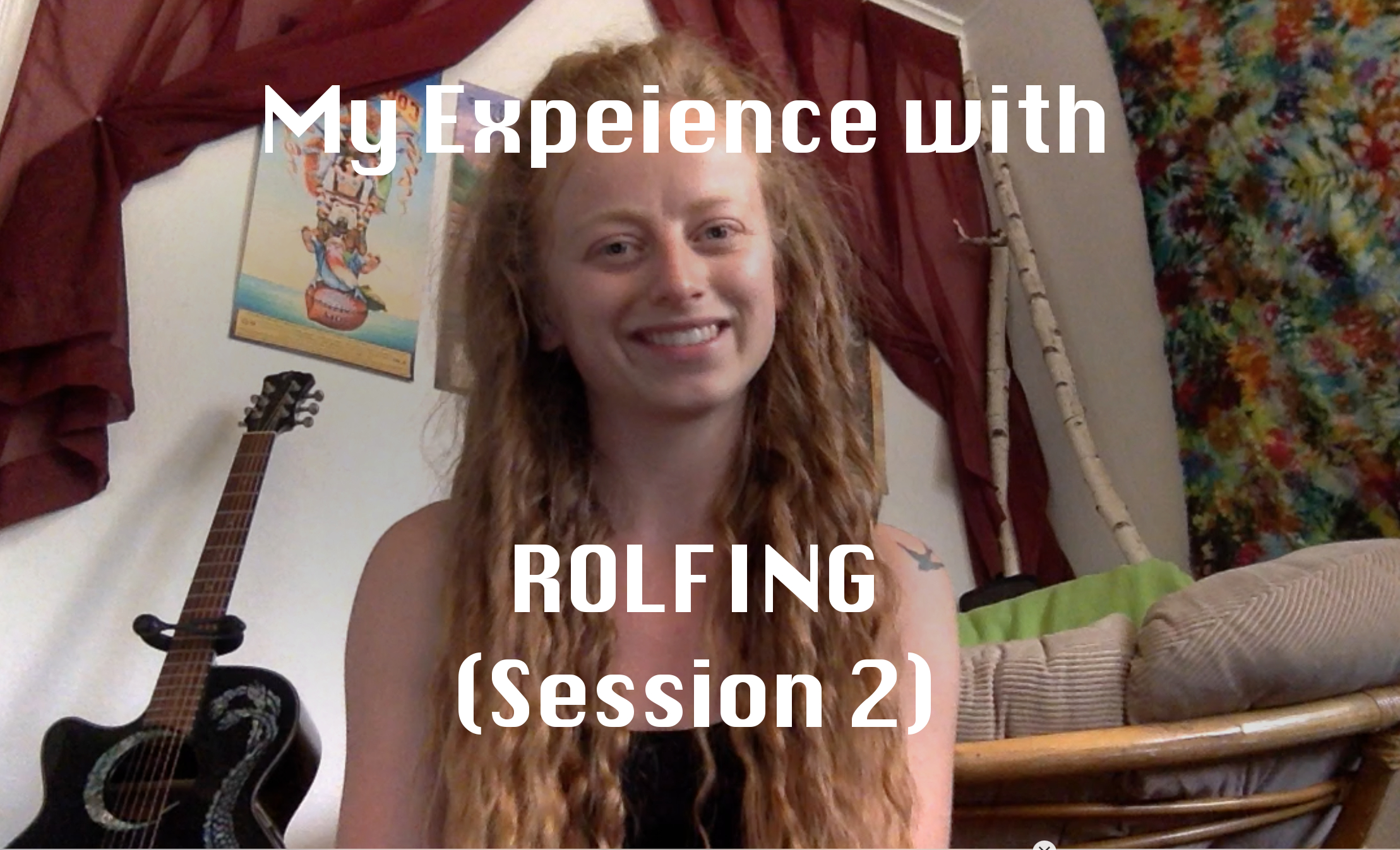 rolfing experieince session 2 superficial backline