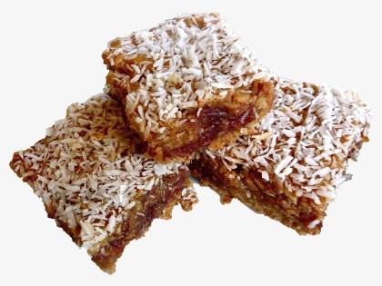 no bake date coconut lemon bars recipe quick easy cheap dairy free gluten free guilt free
