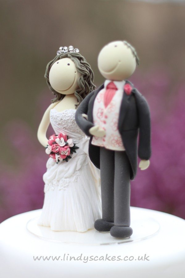 Bride And Groom Cake Toppers By Cake Decorating Expert