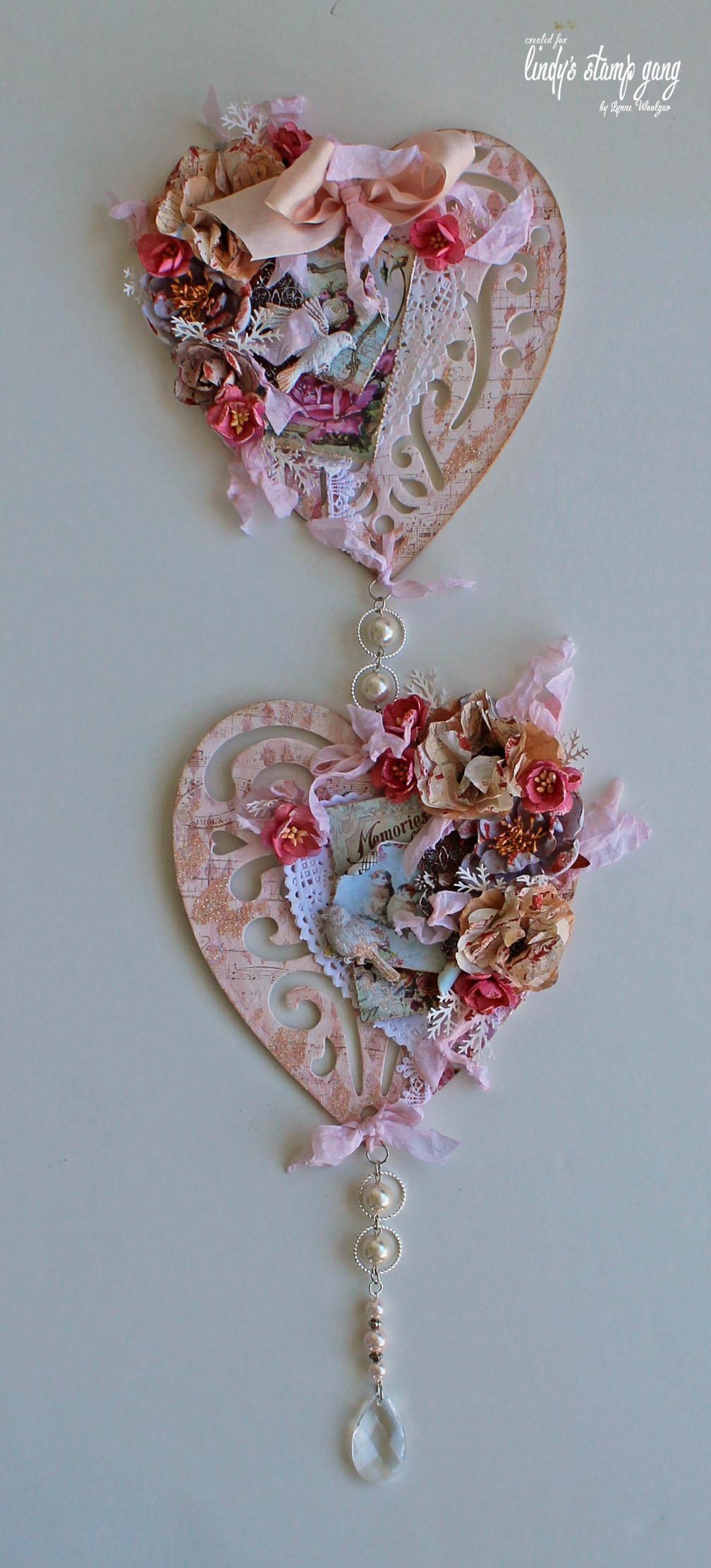 Heart Wall Hanging - Lindy's Gang