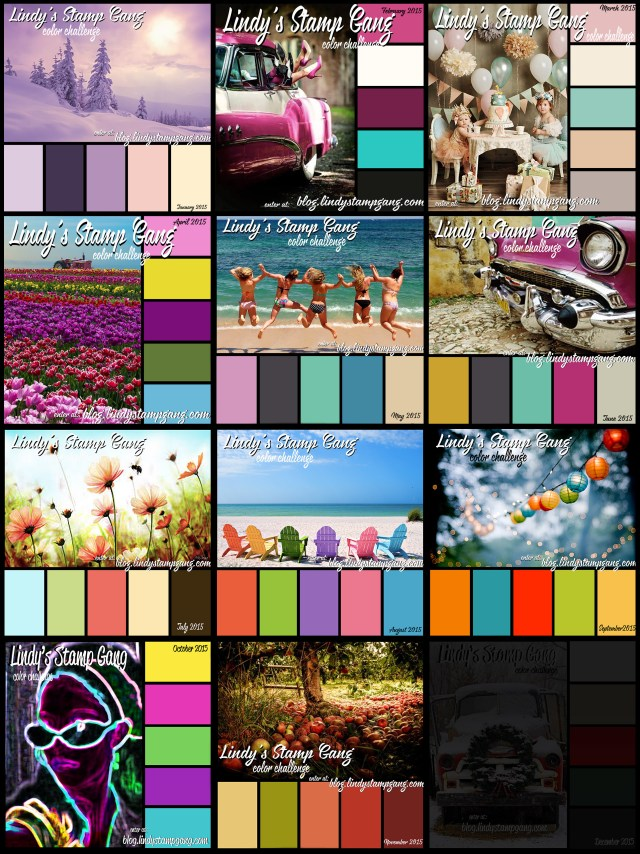 Color Challenges 2015