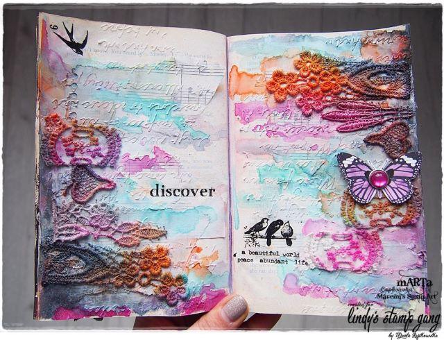 lindys april color challenge- irina