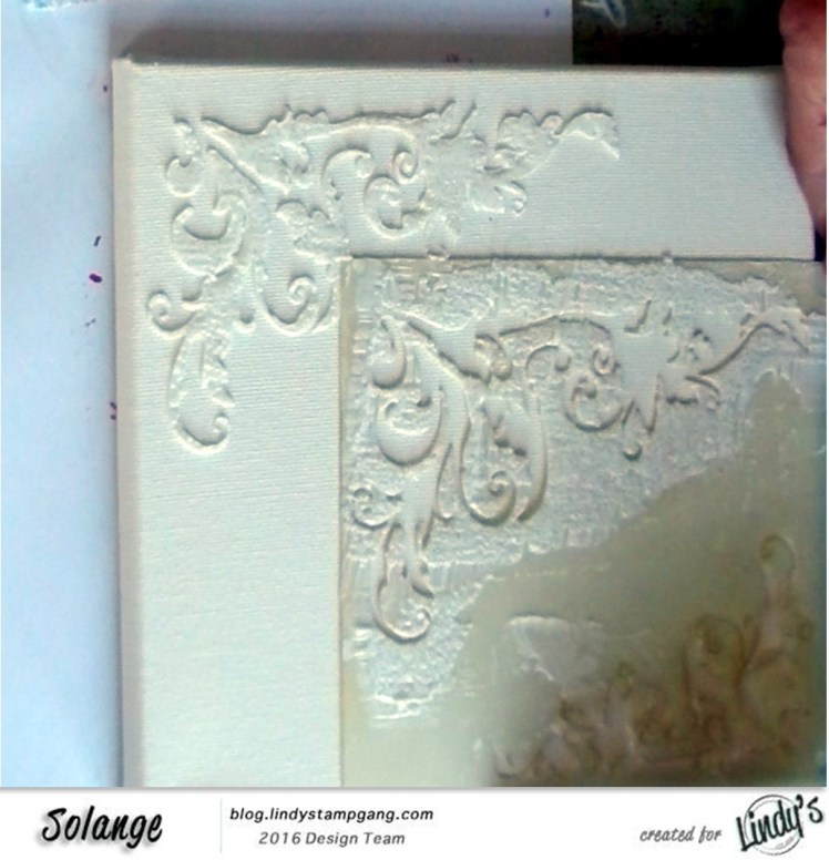 christmas canvas by Solange Marques using Lindy's Stamp Gang products-01