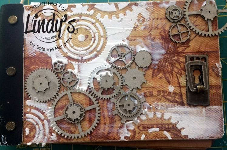 Rust album by Solange Marques with Lindy's Stamp Gang products-01