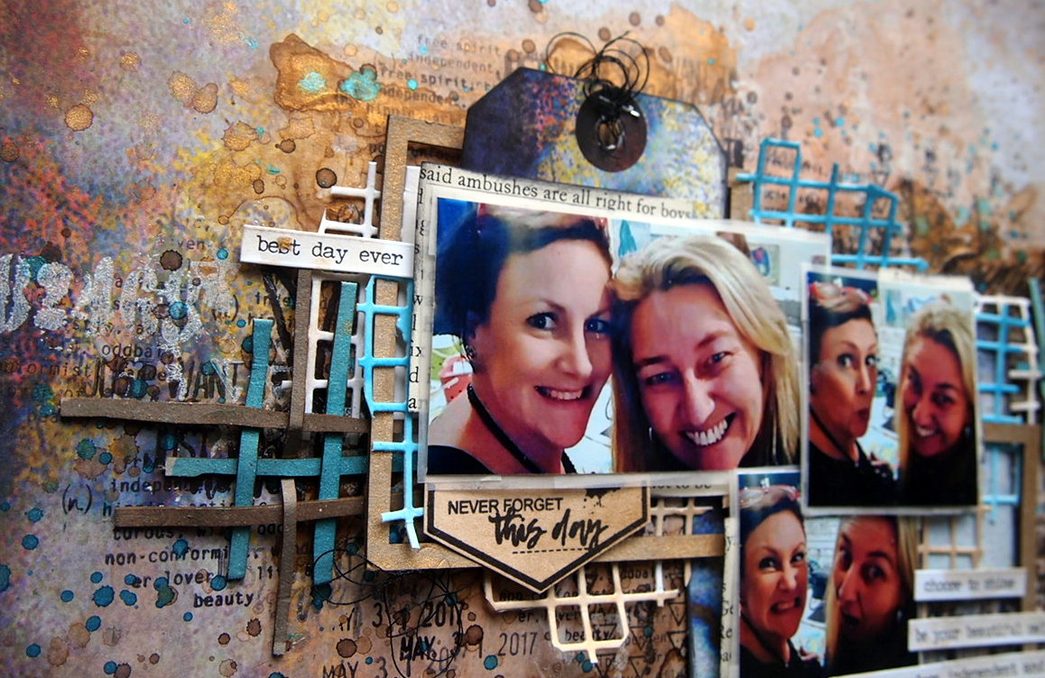 Choose to Shine Layout with Natalie